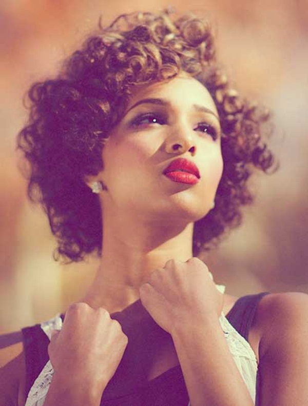 Short Curly Hairstyles for Black Woman (4)