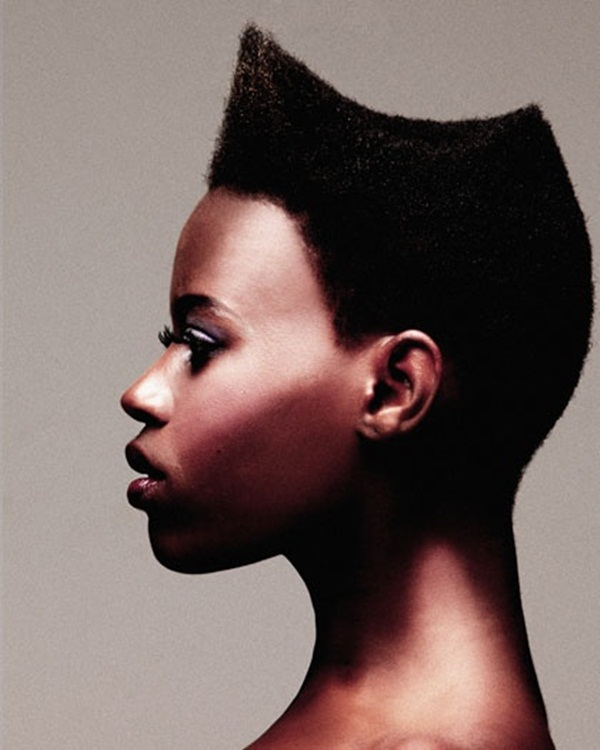 Short Curly Hairstyles for Black Woman (42)
