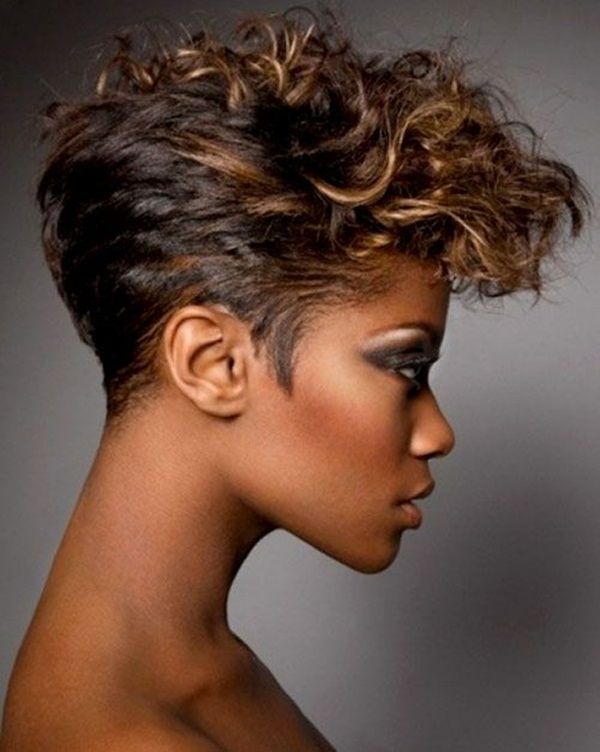 Short Curly Hairstyles for Black Woman (7)