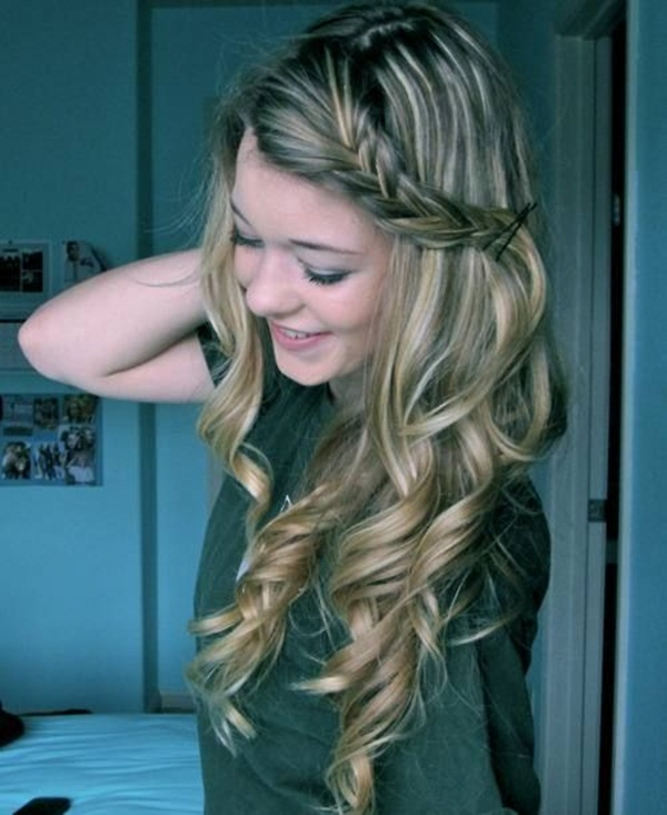 Simple Braid Hairstyles for Long Hair (14)