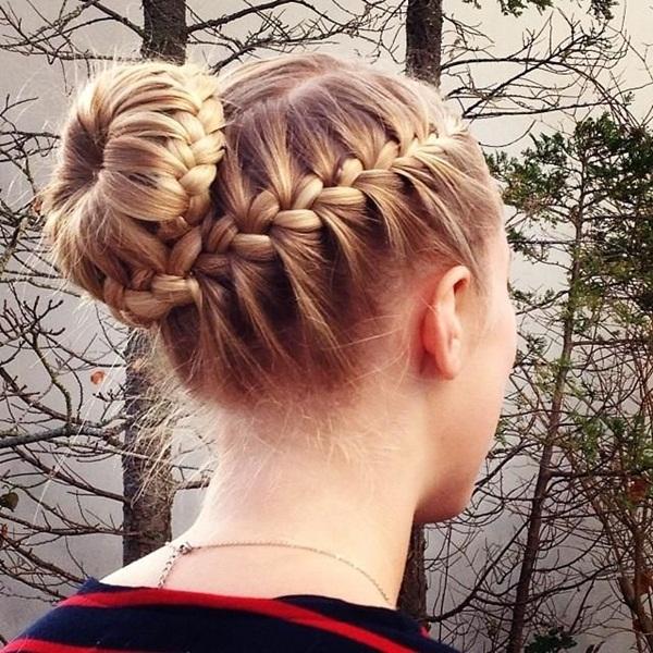 10 Braided Hairstyles For Long Hair: Simple-Braid-Hairstyles-for-Long-Hair-18.jpg