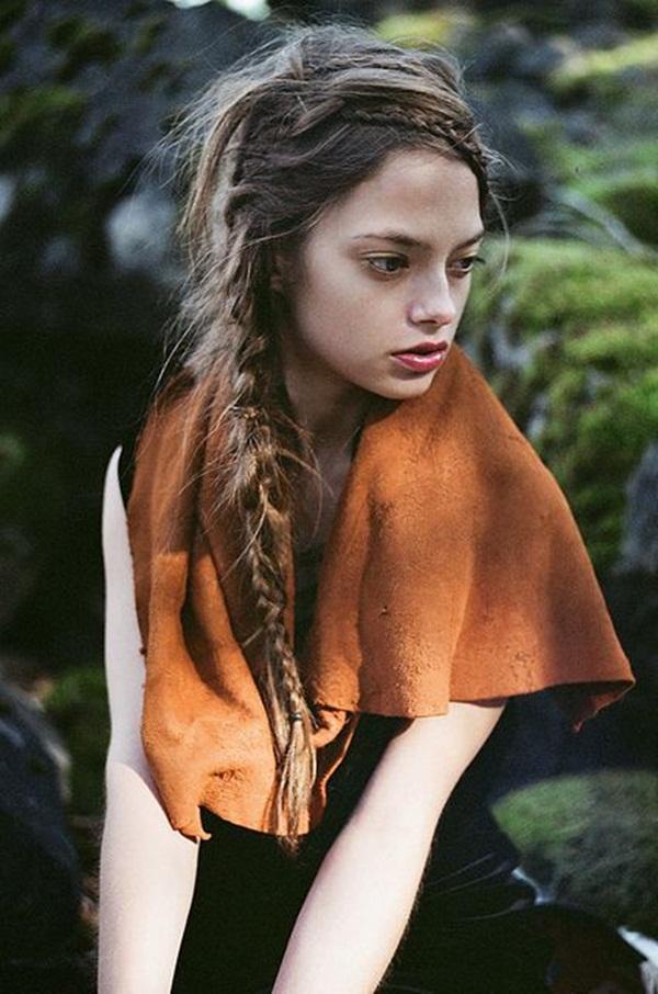 Simple Braid Hairstyles for Long Hair (22)
