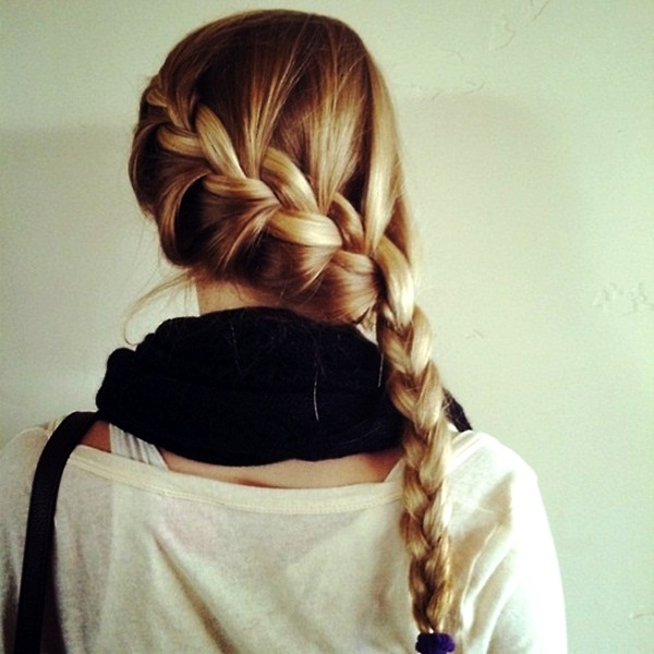 Simple Braid Hairstyles for Long Hair (24)