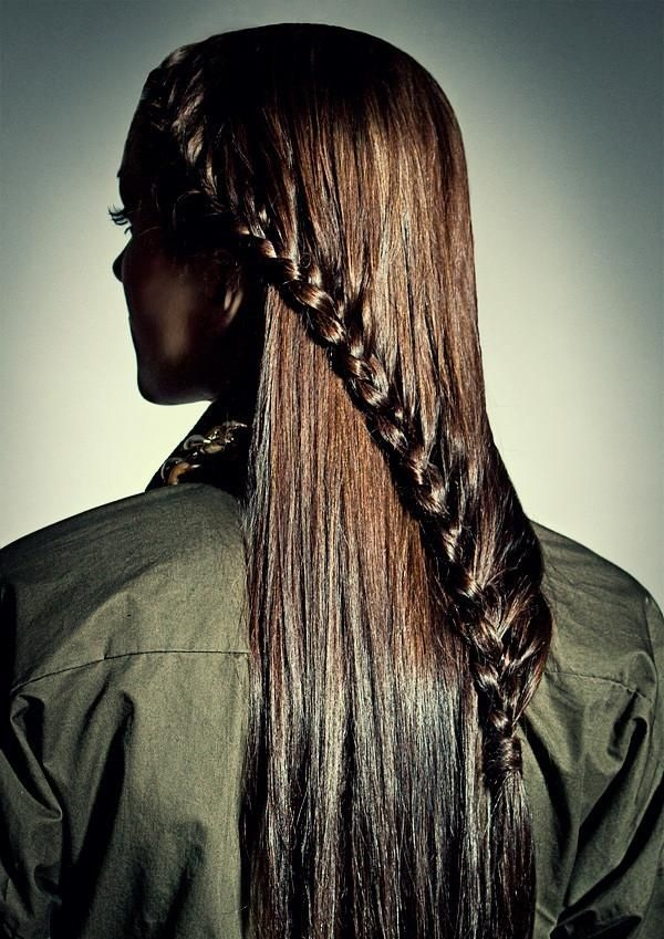 Simple Braid Hairstyles for Long Hair (33)