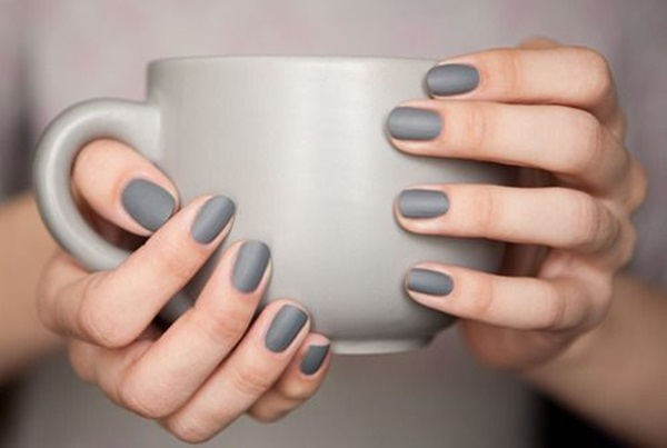 Simple Matte Nail Art Designs for Beginners (22)