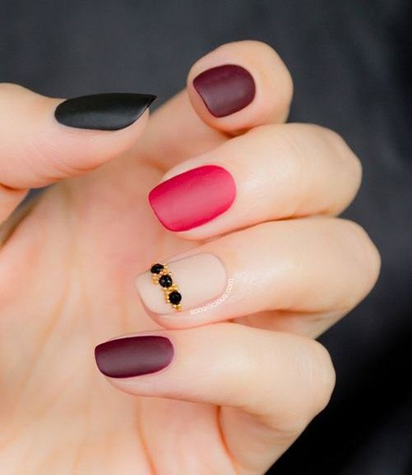 Simple Matte Nail Art Designs For Beginners 27 Jpg