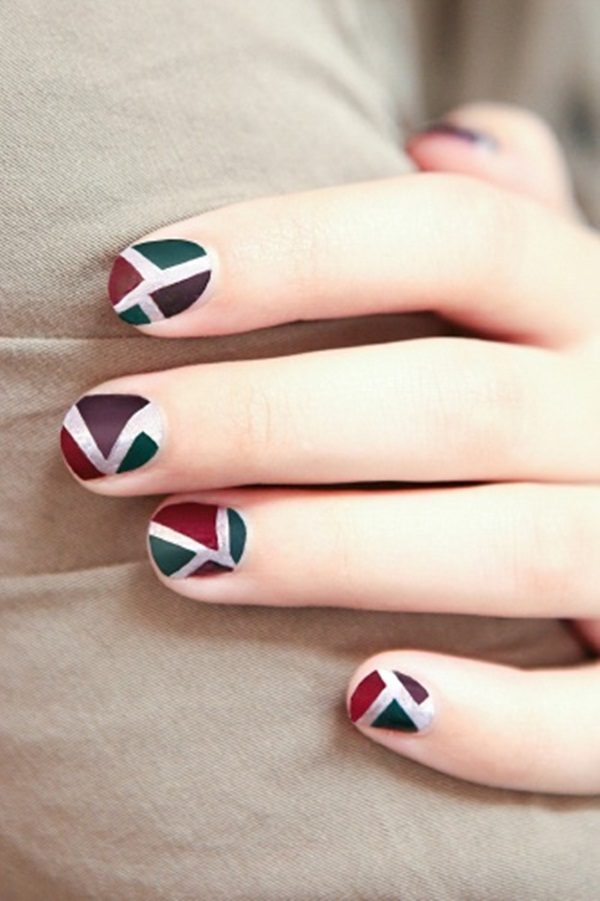 Simple Matte Nail Art Designs for Beginners (4)