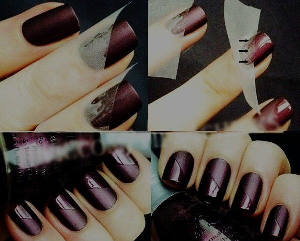 Simple Matte Nail Art Designs for Beginners (44)