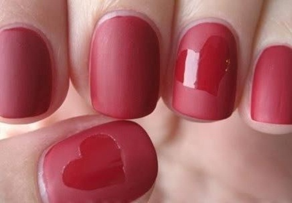 Simple Matte Nail Art Designs for Beginners (8)