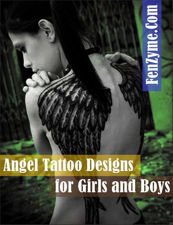 Angel Tattoo Designs for Girls and Boys (1)