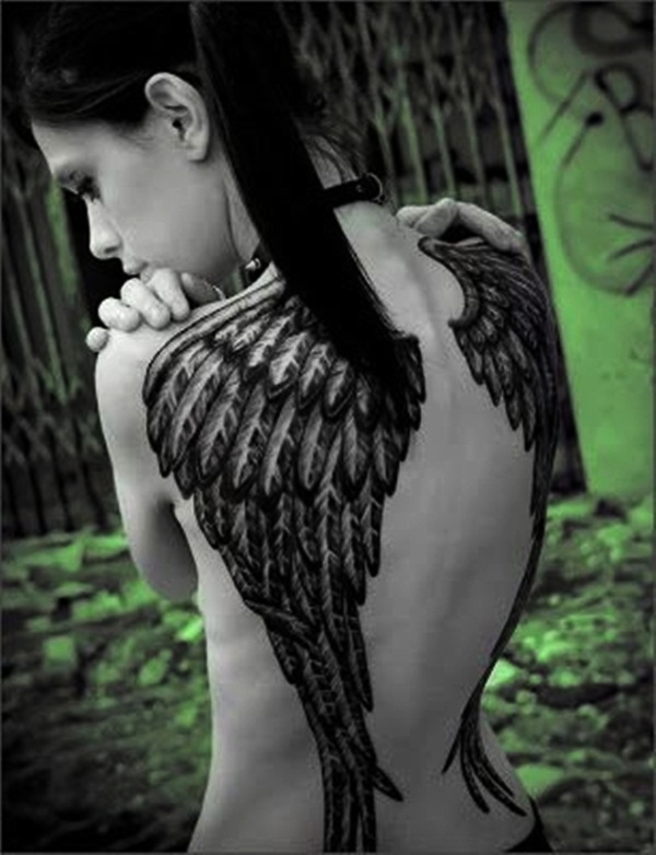 Angel Tattoo Designs for Girls and Boys (10)