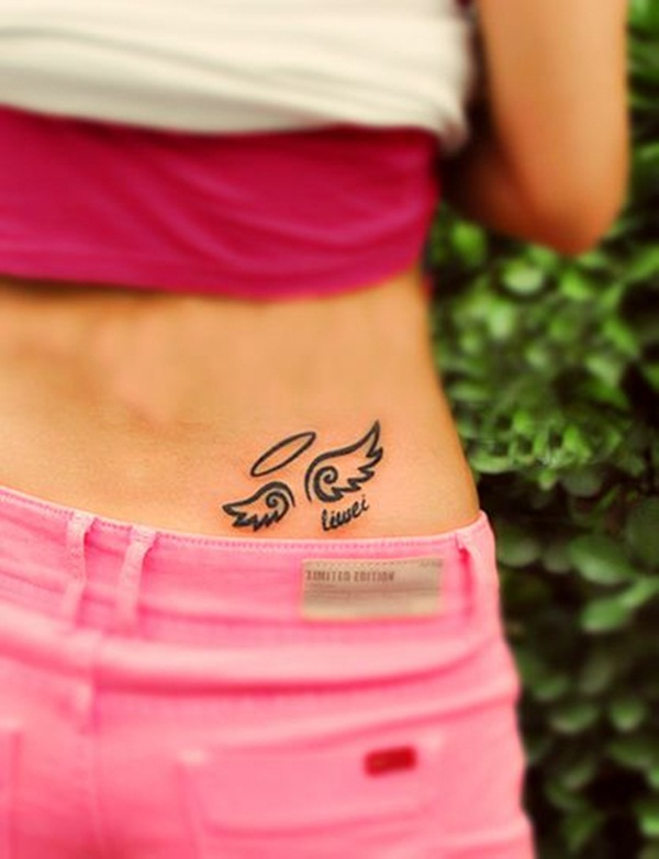 Angel Tattoo Designs for Girls and Boys (12)