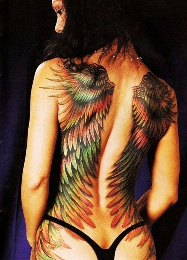 Angel Tattoo Designs for Girls and Boys (19)