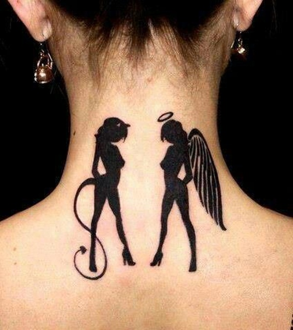 Angel Tattoo Designs for Girls and Boys (23)