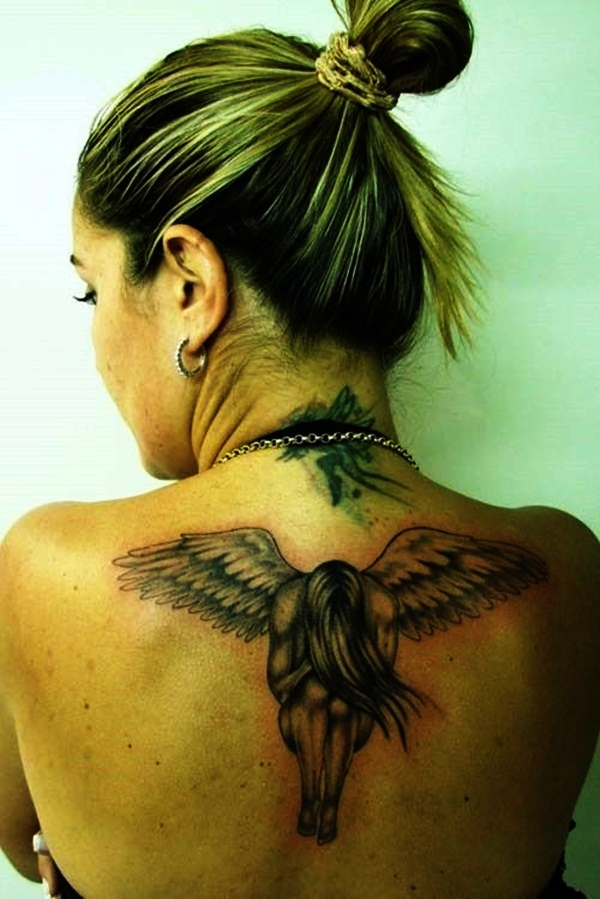 Angel Tattoo Designs for Girls and Boys (25)