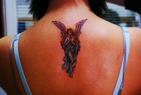 Angel Tattoo Designs for Girls and Boys (27)