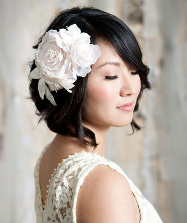 Bridal Hairstyles for Long and Short Hair12