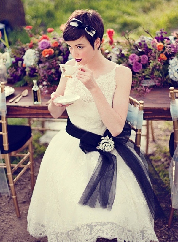 Bridal Hairstyles for Long and Short Hair2.1