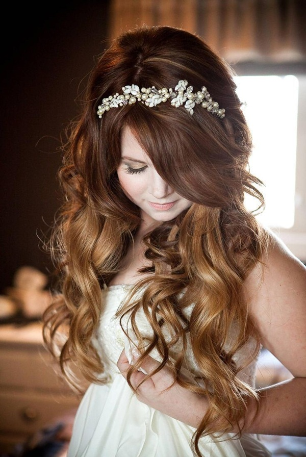 Bridal Hairstyles for Long and Short Hair3