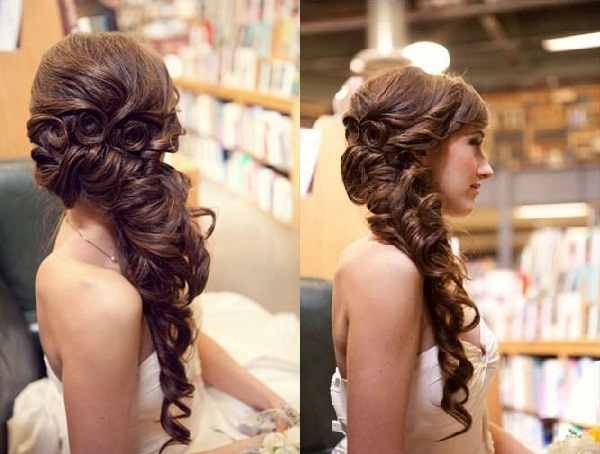 Bridal Hairstyles for Long and Short Hair6