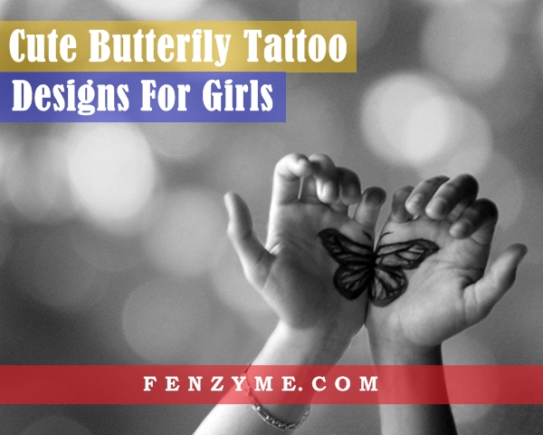 Butterfly Tattoo Designs for Girls (1)