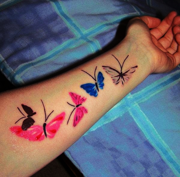 Butterfly Tattoo Designs for Girls (21)