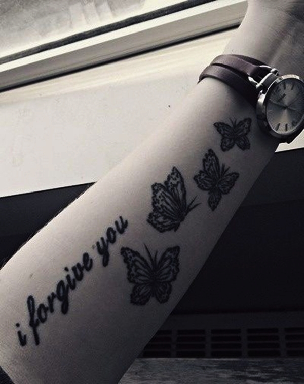 Butterfly Tattoo Designs for Girls (23)