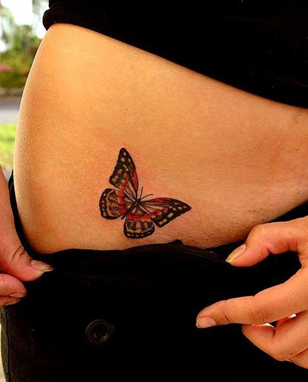 Butterfly Tattoo Designs for Girls (27)