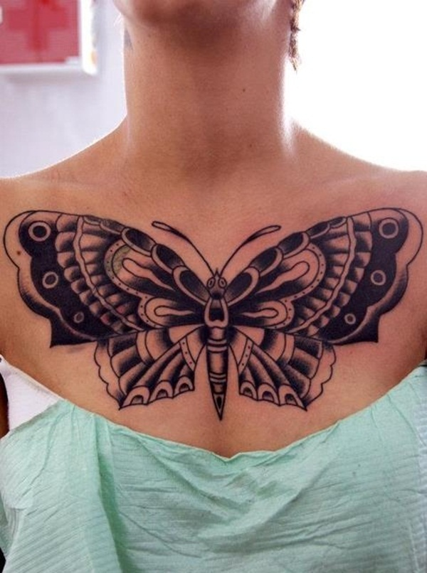Butterfly Tattoo Designs for Girls (29)