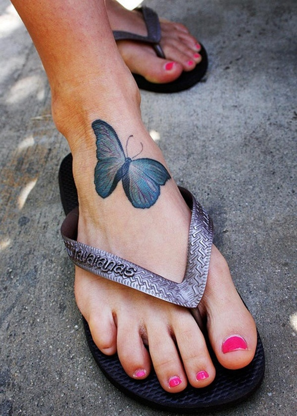 Butterfly Tattoo Designs for Girls (33)