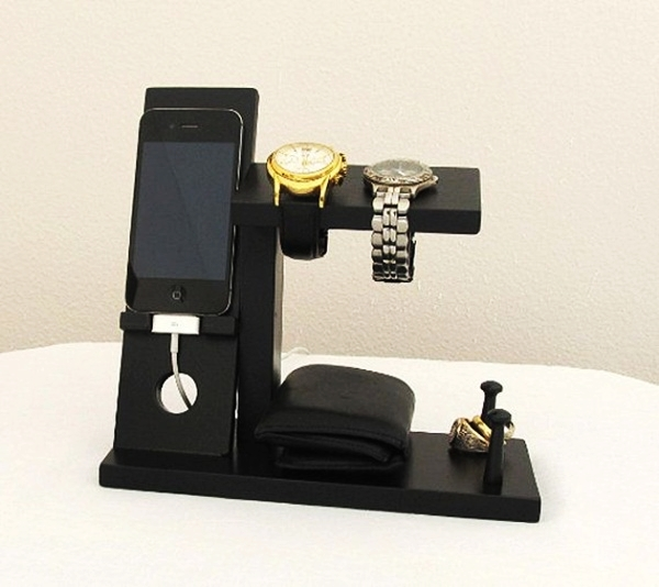 Mens Watch And Ring Holder