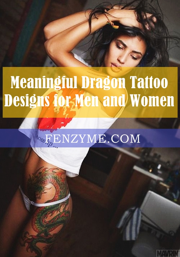Dragon Tattoo Designs for Men and Women (1)