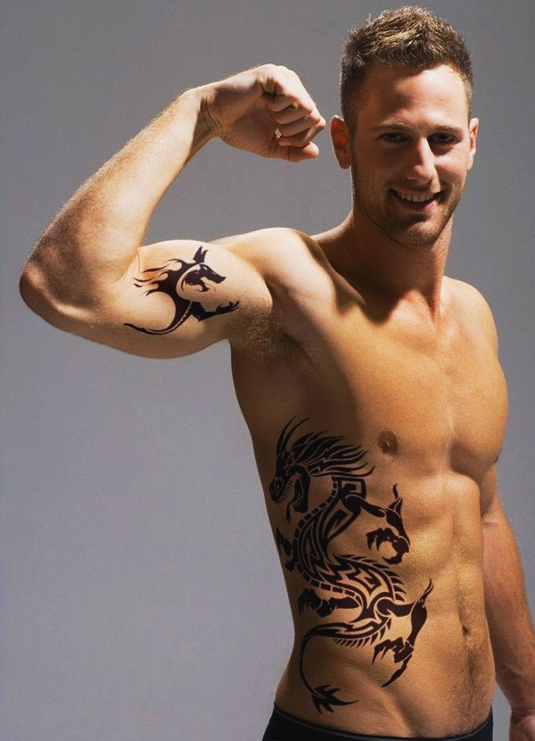 Dragon Tattoo Designs for Men and Women (4)