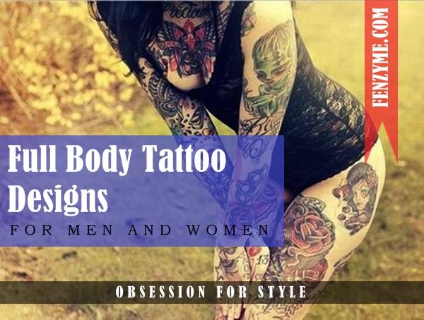 Full Body Tattoo Designs for Men and Women1.1