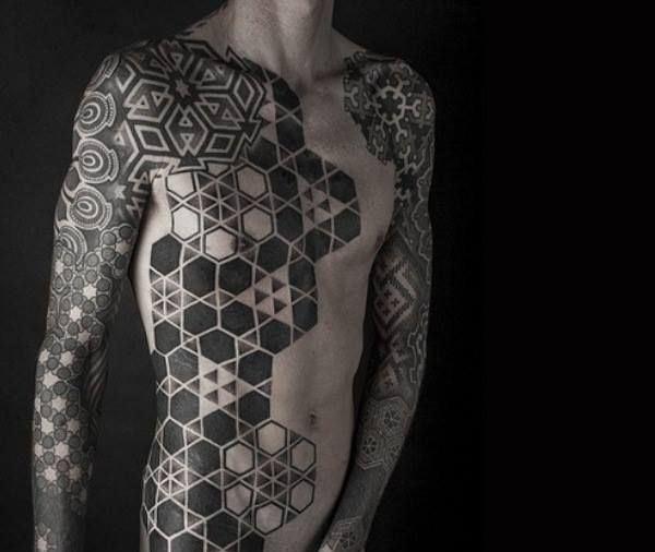 Full Body Tattoo Designs for Men and Women19