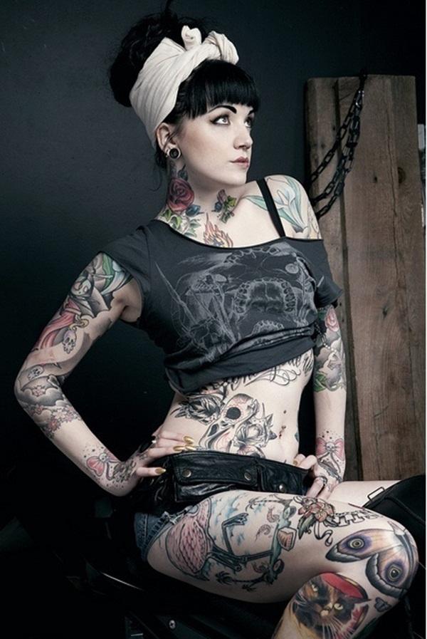 Full Body Tattoo Designs for Men and Women2