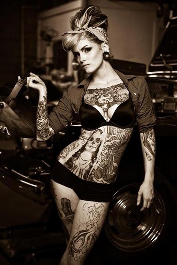 Full Body Tattoo Designs for Men and Women27