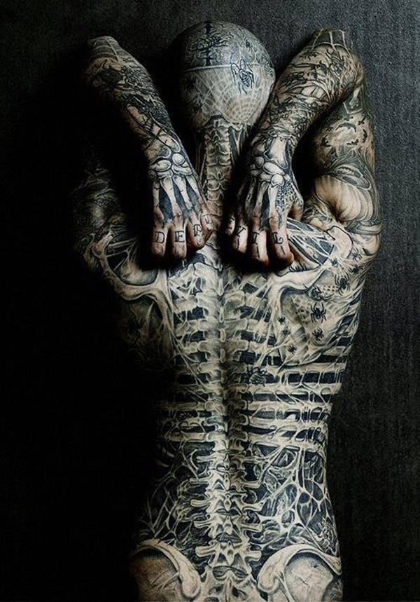 Full Body Tattoo Designs for Men and Women9