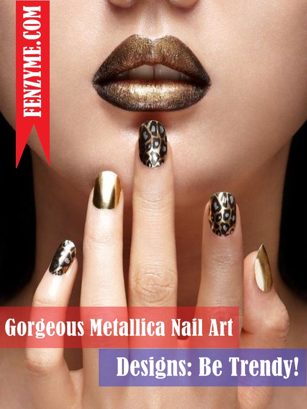 Metallica Nail Art Designs (1)