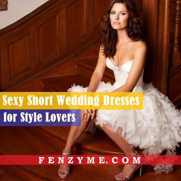 Sexy Short Wedding Dresses (1)