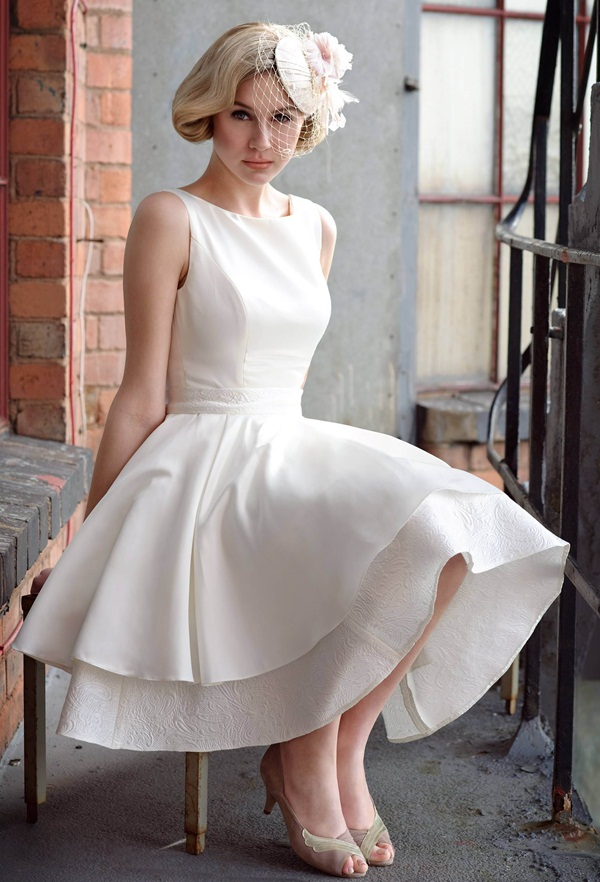 Sexy Short Wedding Dresses (10)