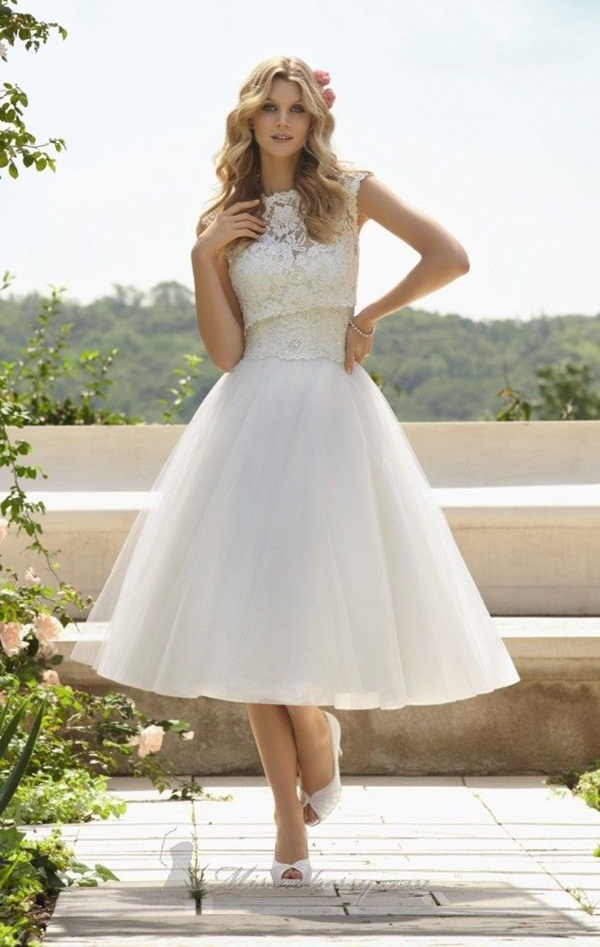 Sexy Short Wedding Dresses (14)