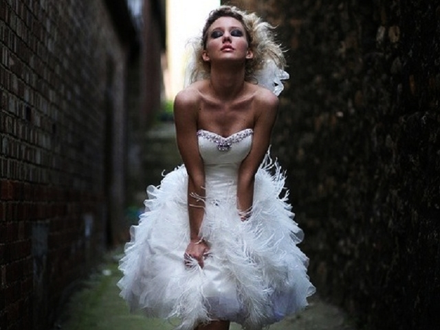Sexy Short Wedding Dresses (2)