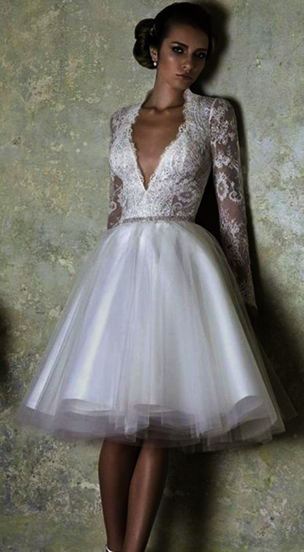 latest 45 sexy short wedding dresses for style lovers
