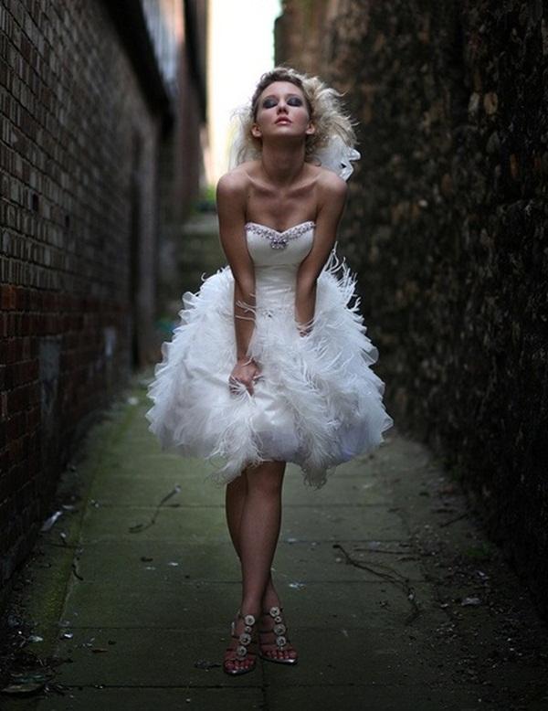 Sexy Short Wedding Dresses (23)
