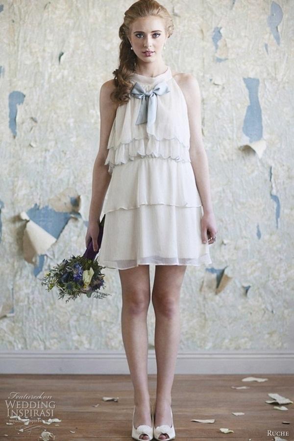 Sexy Short Wedding Dresses (25)