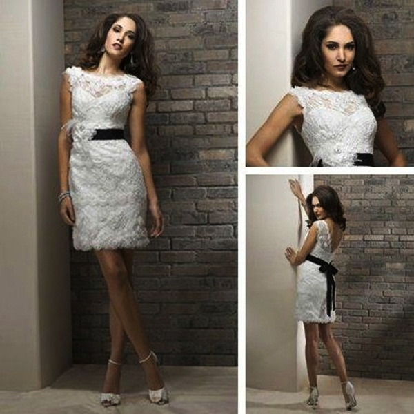 Sexy Short Wedding Dresses (26)