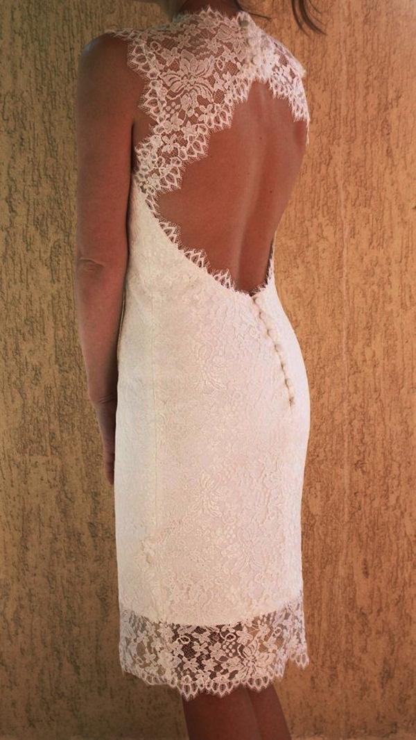 Sexy Short Wedding Dresses (28)