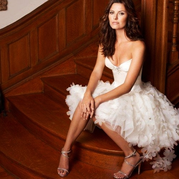 Sexy Short Wedding Dresses (29)
