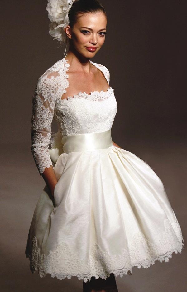Sexy Short Wedding Dresses (30)